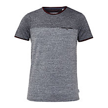Buy Ted Baker Bike Two-Tone T-Shirt, Charcoal Online at johnlewis.com