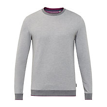 Buy Ted Baker Jax Crew Neck Cotton Jumper Online at johnlewis.com