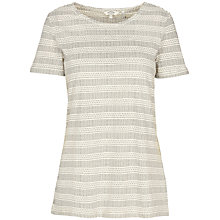Buy Fat Face Newlyn Mark Making Top, Ivory Online at johnlewis.com