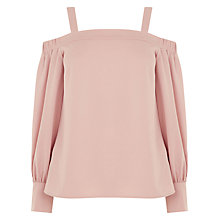 Buy Warehouse Strappy Top, Light Pink Online at johnlewis.com