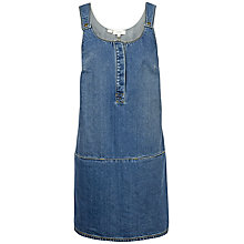 Buy Fat Face Layla Denim Dress, Mid Denim Online at johnlewis.com