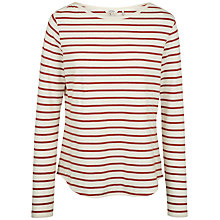 Buy Fat Face Breton Stripe Top Online at johnlewis.com