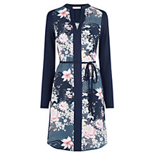 Buy Oasis Lotus Print Shirt Dress, Multi Online at johnlewis.com