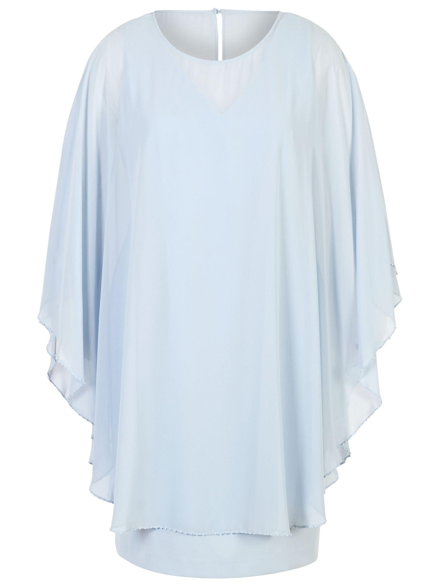 Chesca Chesca Cape Dress, Apple Mist Blue