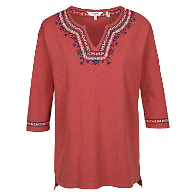 Fat Face Bantham Embroidered Top