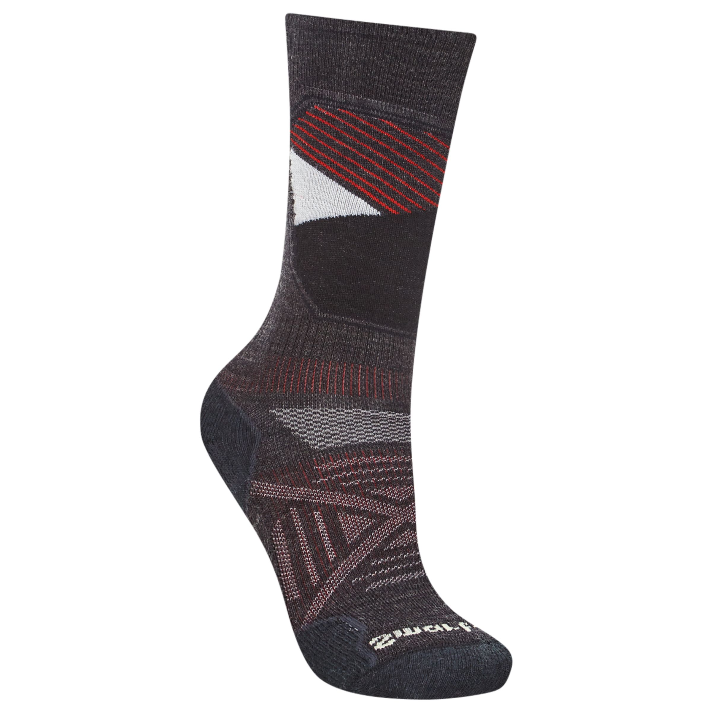Smartwool SmartWool PhD Ski Men's Light Pattern Socks, Charcoal/Multi