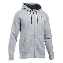 Buy Under Armour Storm Rival Fleece Full Zip Hoodie Online at johnlewis.com