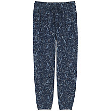Buy Fat Face Constellation Cuff Lounge Trousers, Navy Online at johnlewis.com