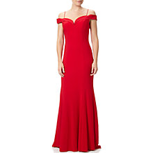 Buy Adrianna Papell Off Shoulder Mermaid Gown Online at johnlewis.com