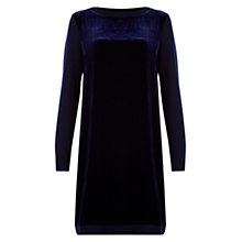 Buy Hobbs Benita Dress, Midnight Online at johnlewis.com