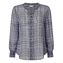 Buy Precis Petite Tina Check Blouse, Multi Online at johnlewis.com