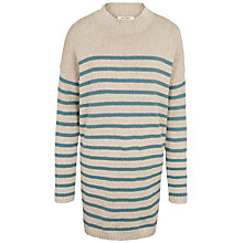 Buy Fat Face Sennan Longline Stripe Jumper Online at johnlewis.com