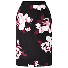 Buy Precis Petite Dana Pencil Skirt, Pink/Multi Online at johnlewis.com