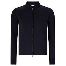 Buy J. Lindeberg Vernon Jersey Full-Zip Jumper, Navy Online at johnlewis.com