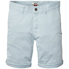 Buy Hilfiger Denim Freddy Stretch Chino Shorts, Winter Sky Online at johnlewis.com