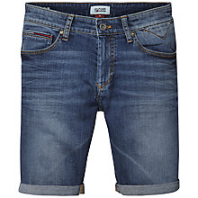 Buy Hilfiger Denim Scanton Denim Shorts, Bright Blue Dark Online at johnlewis.com