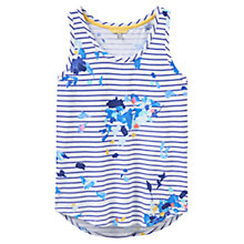 Buy Joules Bo Printed Vest, Multi Floral Stripe Online at johnlewis.com