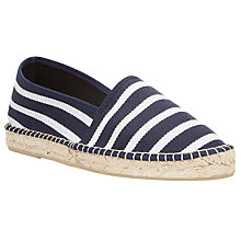 Buy John Lewis Stripe Espadrilles Online at johnlewis.com