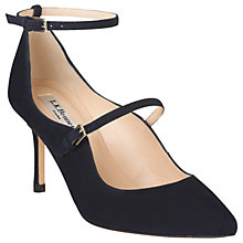 Buy L.K. Bennett Natalia Double Strap Stiletto Court Shoes Online at johnlewis.com