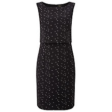 Buy Precis Petite Sophie Layered Dress, Black/Multi Online at johnlewis.com