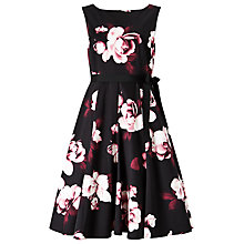 Buy Precis Petite Dana Printed Flared Dress, Multi Online at johnlewis.com