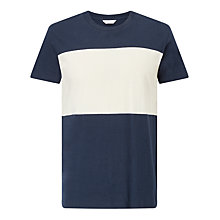 Buy Samsoe & Samsoe Bimm O-N Block Stripe T-Shirt Online at johnlewis.com