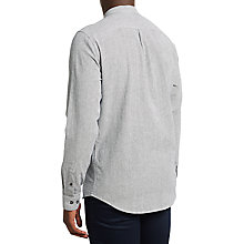 Buy Samsoe & Samsoe Liam EX Stripe Shirt, Dark Sapphire/White Online at johnlewis.com