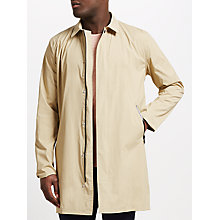Buy Samsoe & Samsoe Silvio Overcoat, Incense Online at johnlewis.com