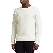 Buy Samsoe & Samsoe Bailey Towelling Sweatshirt Online at johnlewis.com