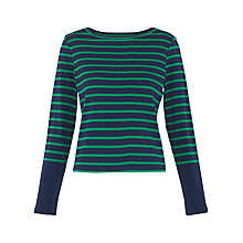 Buy Whistles Stripe Long Sleeve T-Shirt Online at johnlewis.com