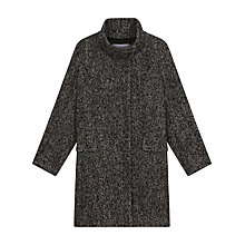 Buy Gerard Darel Volcan Manteaux Coat, Black Online at johnlewis.com