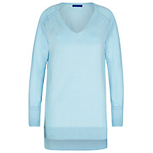 Buy Winser London Cotton V Neck Jumper Online at johnlewis.com