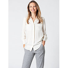 Buy Winser London Silk-Blend Shirt Online at johnlewis.com