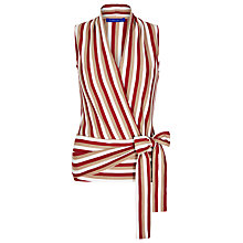 Buy Winser London Stripe Wrap Top Online at johnlewis.com