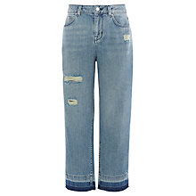 Buy Karen Millen Boyfriend Jeans, Denim Online at johnlewis.com