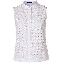 Buy Winser London Broderie Anglaise Top Online at johnlewis.com