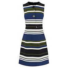 Buy Karen Millen Mixed Stripe Dress, Multi Online at johnlewis.com