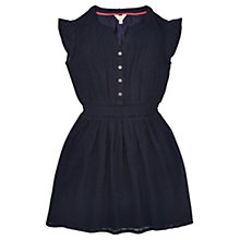 Buy Jigsaw Girls' Fil Coupé Dress, Navy Online at johnlewis.com