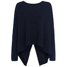 Buy French Connection Twist Back Jumper, Utility Blue Online at johnlewis.com