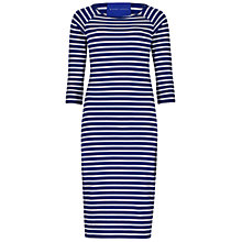 Buy Winser London Striped Dress, Blue/White Online at johnlewis.com