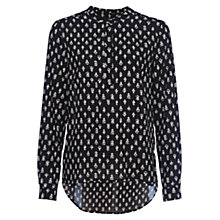 Buy French Connection Rossine Voile Popover Top Online at johnlewis.com