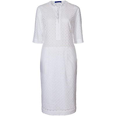Winser London Broderie Anglaise Dress, White