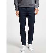 Buy Libertine-Libertine Transworld Slim Tailored Trousers, Dark Navy Online at johnlewis.com