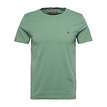 Buy Tommy Hilfiger Stretch Cotton Crew Neck T-Shirt Online at johnlewis.com