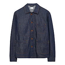 Buy Gant Rugger Denim Shirt Jacket, Raw Blue Online at johnlewis.com