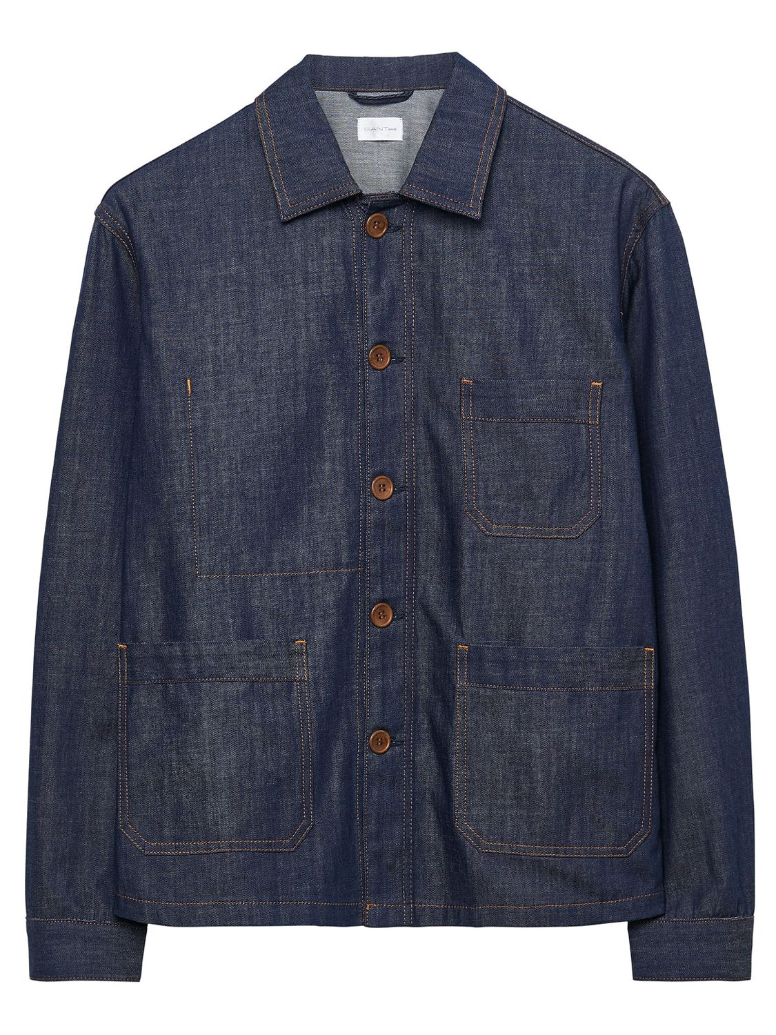 Gant Rugger Gant Rugger Denim Shirt Jacket, Raw Blue