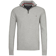 Buy Tommy Hilfiger Adrien Half Zip Jumper Online at johnlewis.com