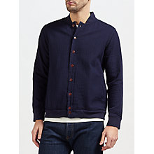 Buy Gant Rugger Heavy Waffle Blouson, Evening Blue Online at johnlewis.com
