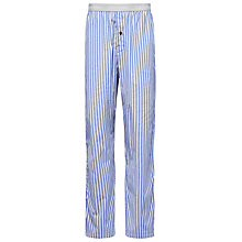 Buy Calvin Klein Bristol Stripe Lounge Pants, Grey/Purple Online at johnlewis.com