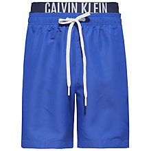 Buy Calvin Klein Intense Power Double Waistband Swim Shorts Online at johnlewis.com